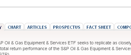 ETF Resume, Commodity ETFs