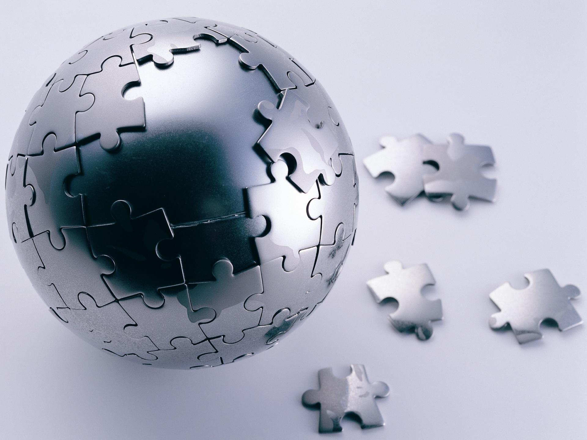 Metal Sphere Puzzle