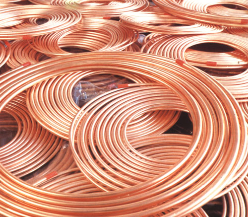 copper used for electricity