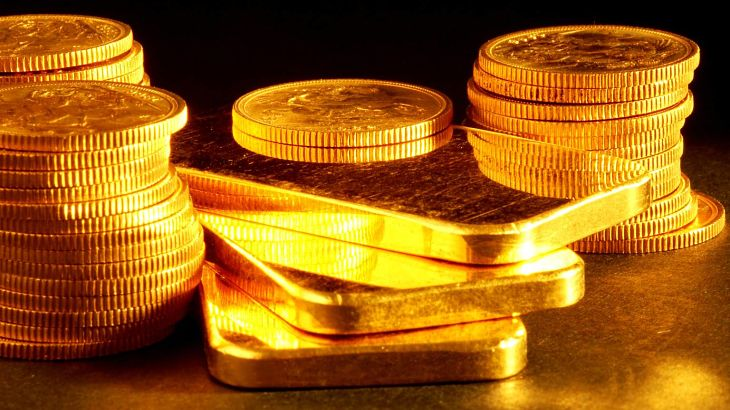 Exposing the Skew in GLD Exchange Traded Funds