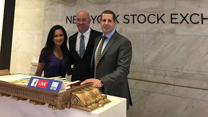 ETF Trends Publisher Makes 'Facebook Live' Appearance at the NYSE