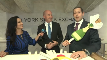 Video: 'Exchange Traded Fun' at the New York Stock Exchange (NYSE)