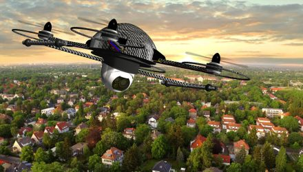 Drone ETF Flies High, Up 20% YTD