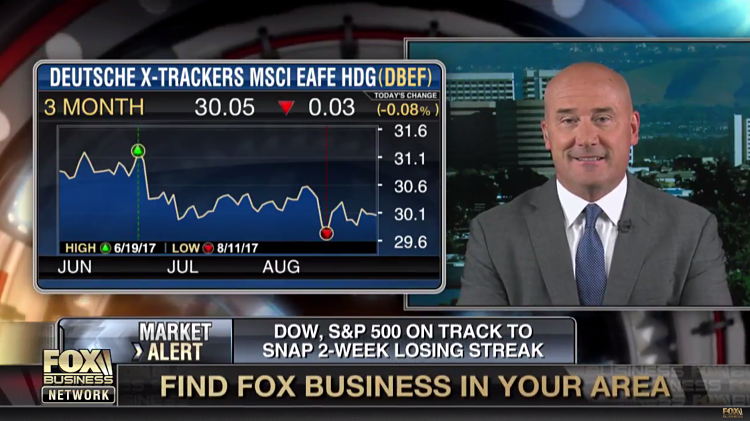ETF Trends Publisher Tom Lydon Talks Investing Abroad on Fox Business Network