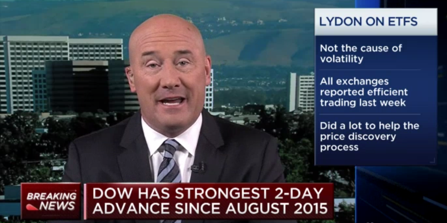 Lydon Talks ETF Performance on CNBC: All Systems Go