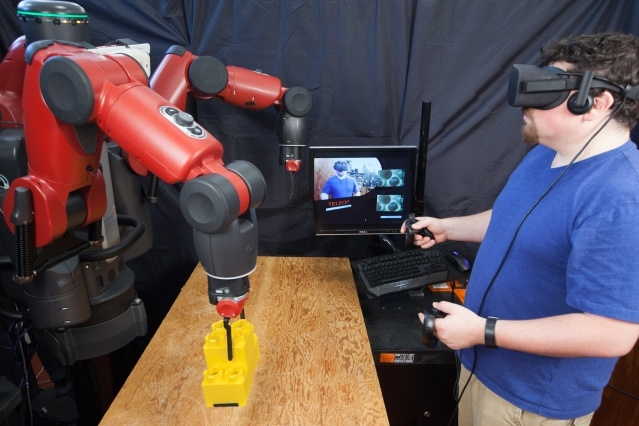 Teleoperated Robots: The Industrial Future Using AR and VR