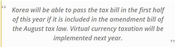 Korea Bitcoin announcement