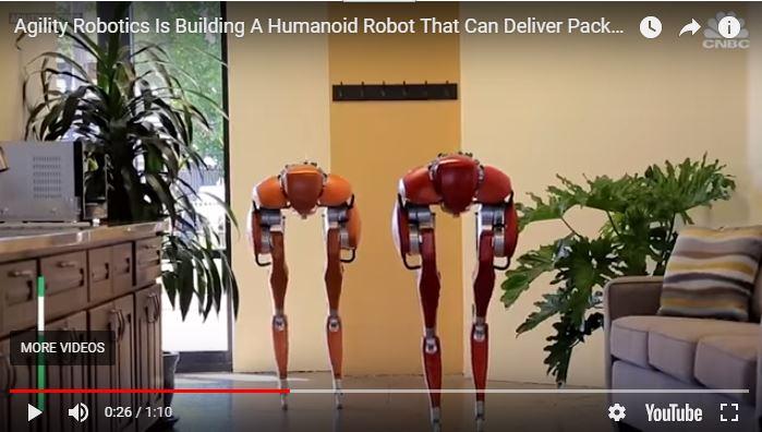 Cassie Robot Delivers Packages to Your Door