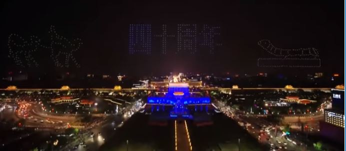 Consider IFLY as Drone Light Show Sets New Guiness Record