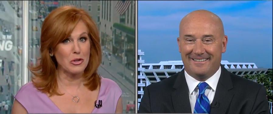 Talking Patriotic Portfolios with Liz Claman on Fox Business