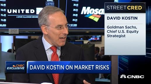 Goldman Strategist Sees Weaker Stock Prices Despite Higher Earnings