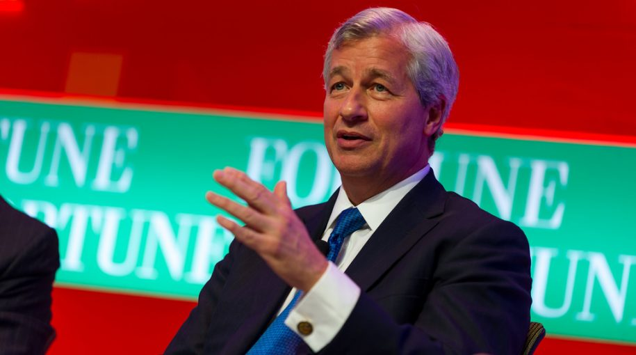 Jamie Dimon on 2020 Election: 'I Think I Can Beat Trump'