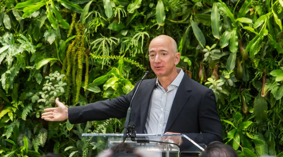 Jeff Bezos Now Worth $144 Billion—How His Success All Started