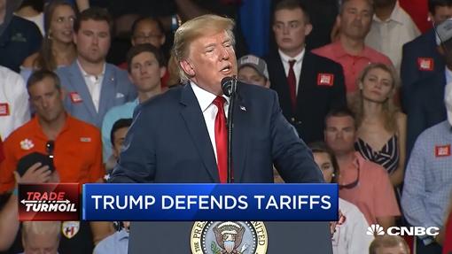 President Trump, Harley-Davidson in War of Words