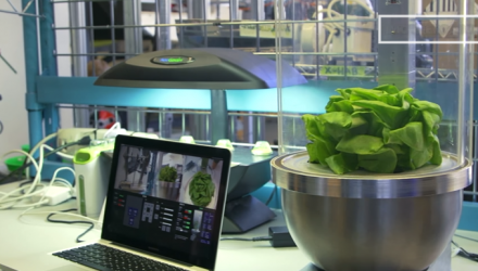 future of food in space