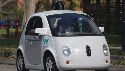 Waymo Driverless Car