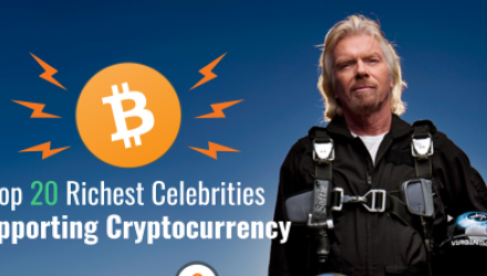 20 Notable Celebrities Backing Cryptocurrency