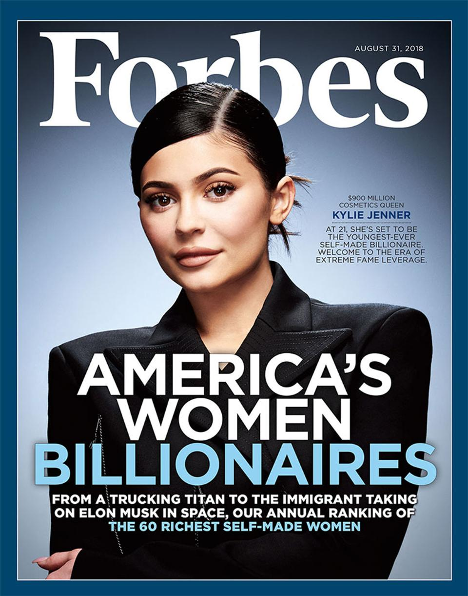 Kylie Jenner Could Be the Youngest Self-Made Billionaire Ever, Beating Mark Zuckerberg