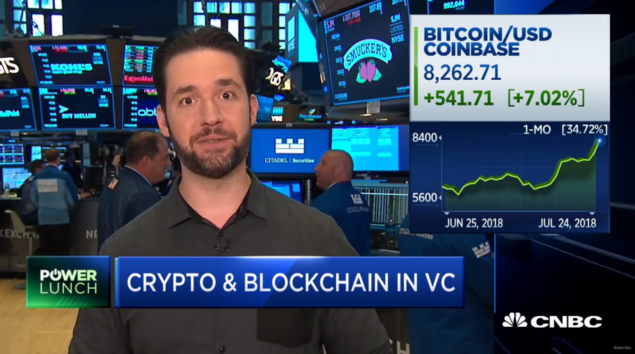 Reddit Co-Founder Alexis Ohanian on Bitcoin's Bull Run