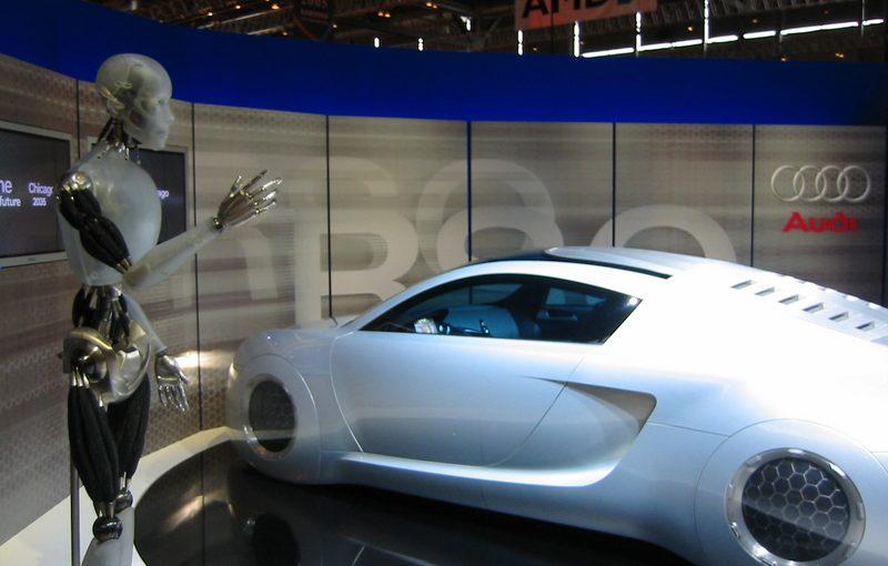 Audi Making Full Use of Robotic Technology