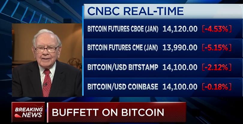 Trader Bets Bitcoin Will Exceed Warren Buffett's Berkshire Price