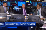 Cramer: Alphabet 'crushing it' this quarter