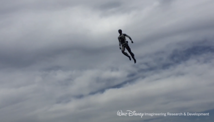 Disney's New Stuntronics Robots Perform Aerial Acrobatics