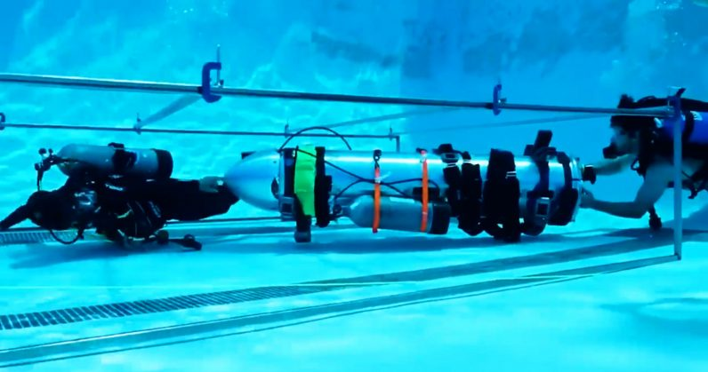 Elon Musk Submarine