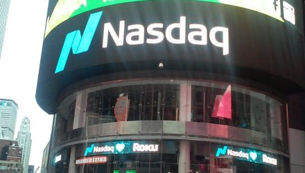 NASDAQ Hits Record High Behind Strong Google Earnings
