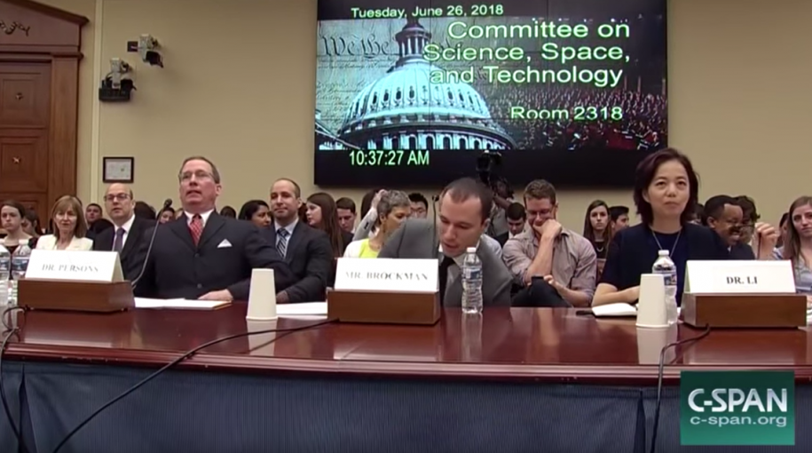The Power of Artificial Intelligence – US Congressional Hearing