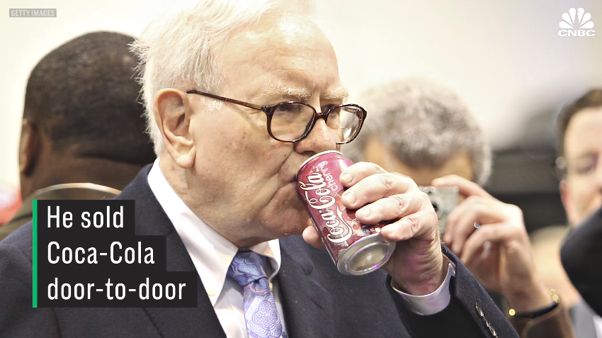 Warren Buffett's Early Side Hustles: Chewing Gum, Stamps & Coca-Cola