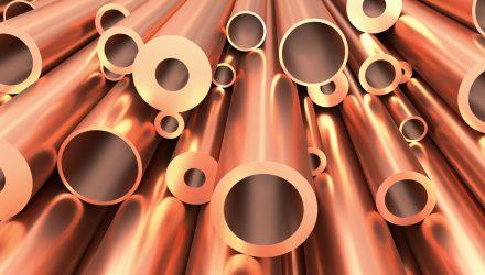 Copper ETPs Plunge on Weakening Global Outlook