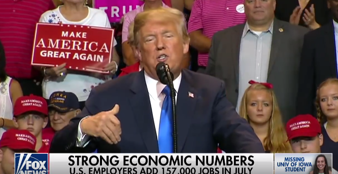 'Economy Remains Incredibly Strong,' Says White House