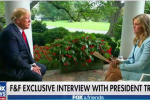 Trump discussed his own impeachment in his latest interview with his favorite channel, FOX News.