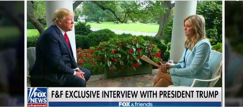 Donald Trump Discussing His Own Impeachment