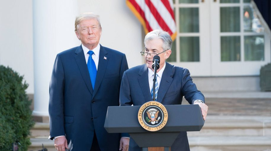 Trump Takes Another Jab at Fed Chair for Raising Rates