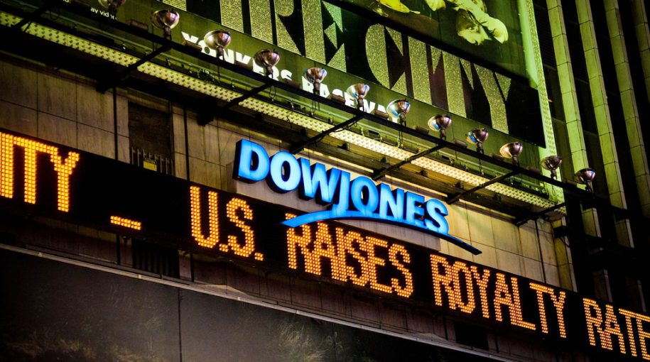 Dow Climbs Over 200 Points as Trade Wars Fears Ease