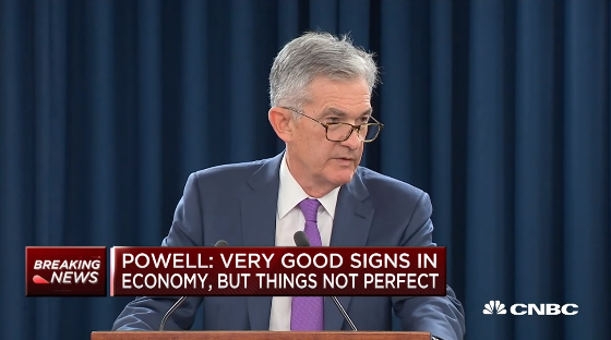 Fed Chair Jerome Powell: Unemployment & Inflation Forecasts