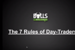 7 Golden Rules of Day Traders