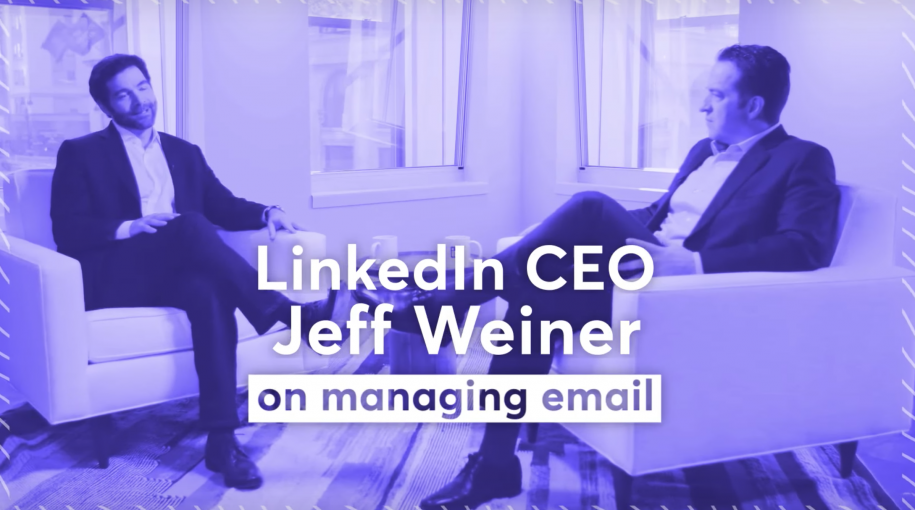 LinkedIn CEO Jeff Weiner's Email Management Tips