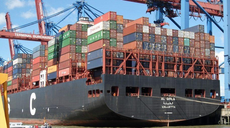 Dow Falls as U.S. Trade Deficit Rises in December