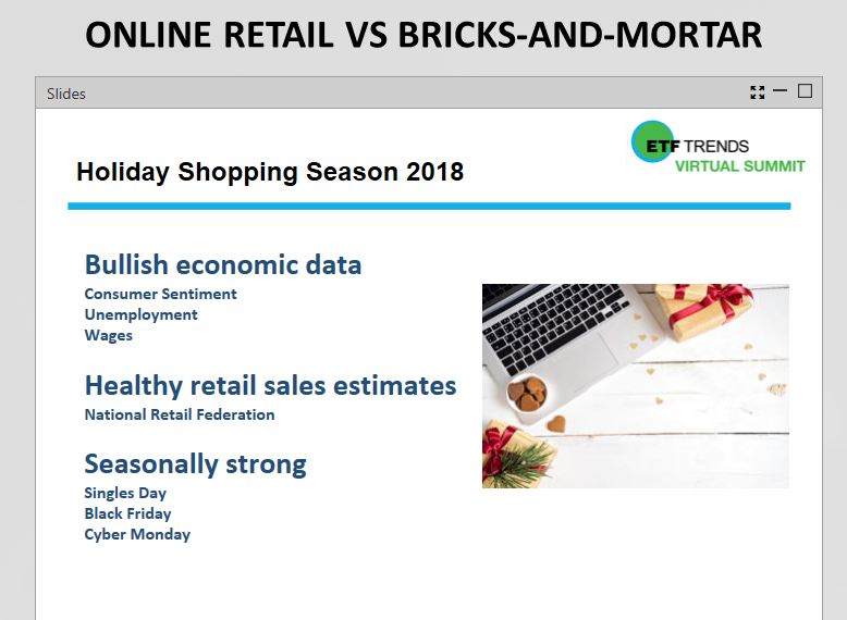 2018 Disruptive ETF Virtual Summit Live Update - Battle of Retail Industry Between Online and Brick-and-Mortar 2