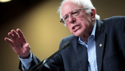 Bernie Sanders Introduces Bill Targeted at Large Financial Companies