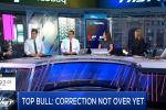 Biggest Bull on Wall Street Says Market Corrections Not Over Yet