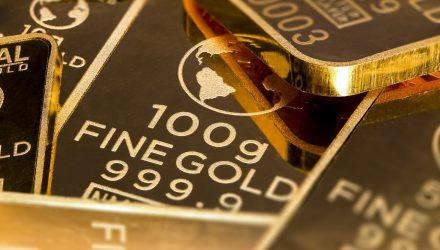 Gold ETFs Show Their Mettle as Stocks Slide