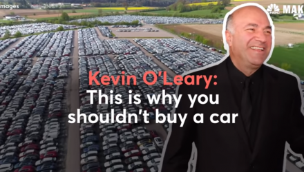 Kevin O'Leary Says Don't Buy A Car - Here's Why