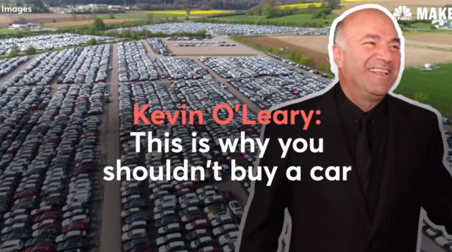 Kevin O'Leary Says Don't Buy A Car – Here's Why