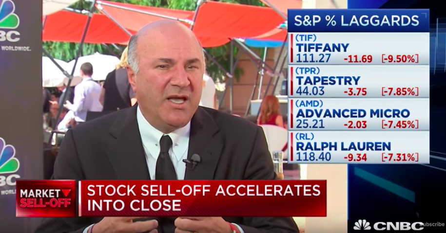 Kevin O'Leary Says US Core Economy Is On Fire
