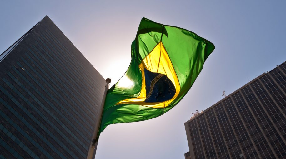 Leveraged Brazilian ETF Continues to Rise After Dow Sells Off
