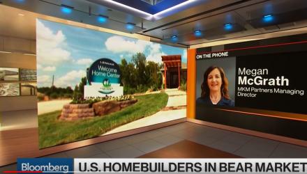 U.S. Homebuilders Face Bear Market Amid Rising Interest Rates